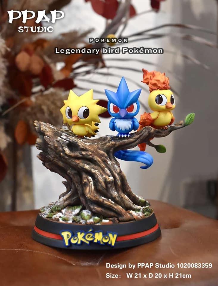 Legendary Pokemon By PPAP Studio