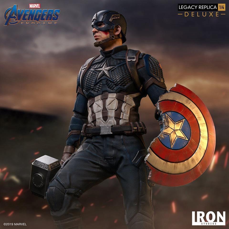 Captain America Legacy Replica 1/4 Iron Studio