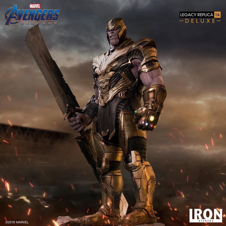 Thanos Legacy Replica 1/4 Iron Studio