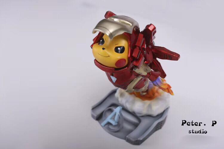 Pikachu x Ironman Peter P