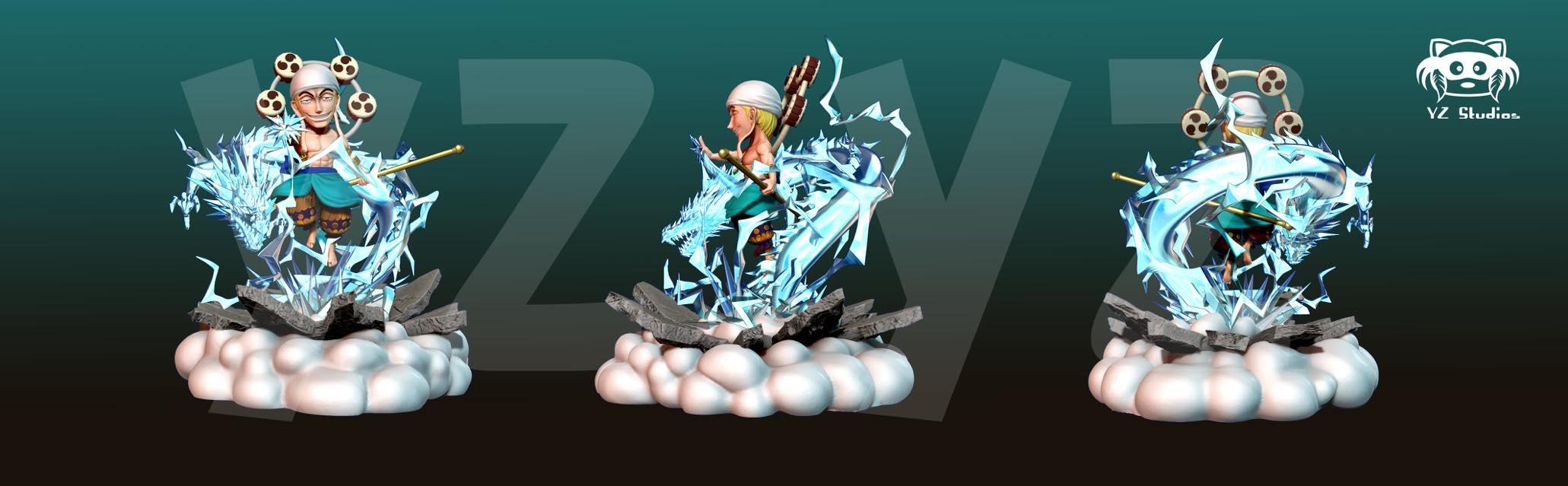 Enel YZ Blue + White Color
