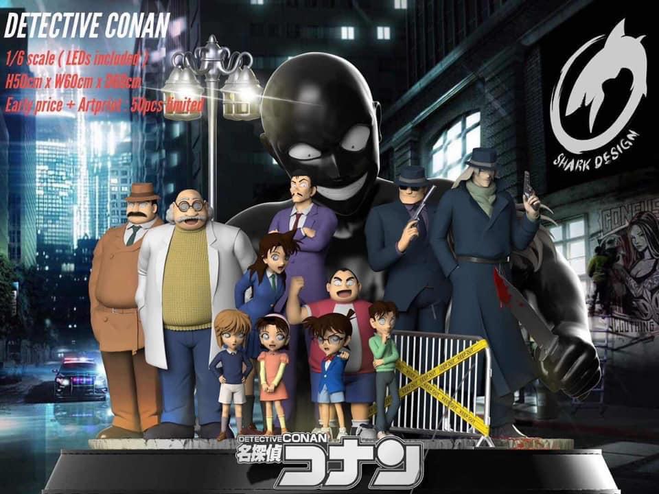Detective Conan By Shark Studio