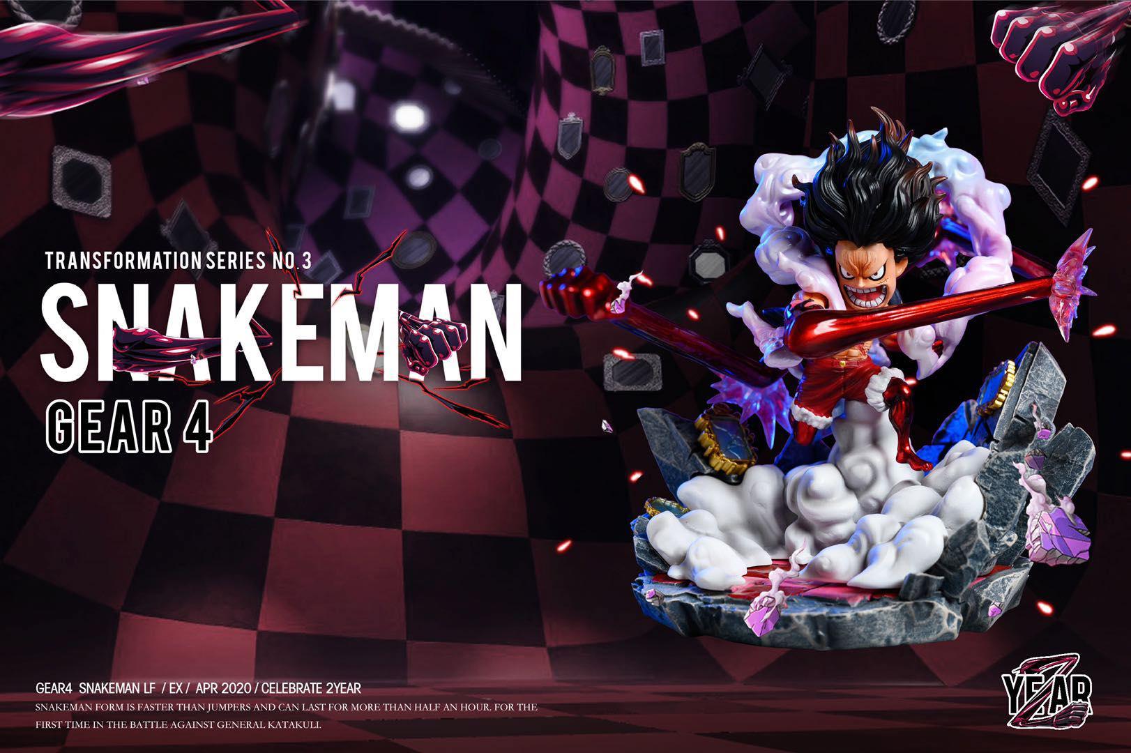 Luffy Snakeman Yz Studio